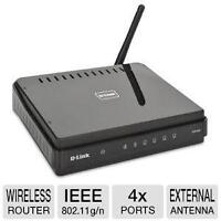 D-Link DIR-601 Wireless-N 150 Home Router - IEEE 802.11n, 4x 10/