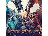 Arcadia @ Olympic Park - Sunday 6th May - 1x Ticket