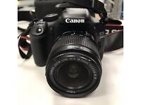 Canon EOS 550D DSLR Rebel T3i Camera 18MP (with lens and camera bag)