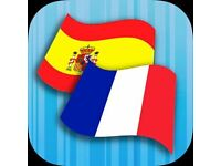 Your French for my Spanish or French student needed