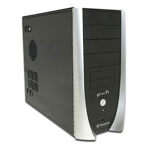 Used Thermaltake computer tower case +HP disc writer