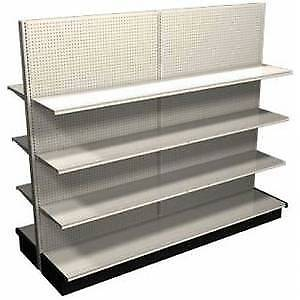 Gondola/shelving-single&double sided 4 display&storage/used&new