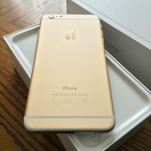 Iphone 6 gold,  64 g