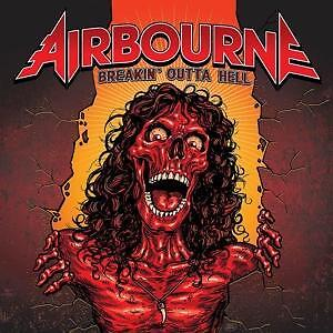 AIRBOURNE CD BREAKIN' OUTTA HELL (Limited Edition Bonus Track) NEU & OVP !!!