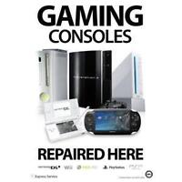 iFix&Repair Gaming Consoles (Xbox360,Xbox1,PS3,PS4,iPhone,ipad)