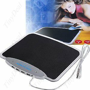 (Brand New in Retail Box) 4 Port USB 2.0 Hub and Mouse Pad