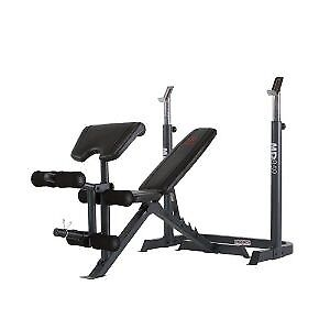 Used Apex Weight Bench and lots of accessories