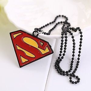 New Stainless Steel Superman Or Batman Ring And Necklace Set Windsor Region Ontario image 8
