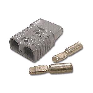 Grey Anderson 50amp 12-24v plug