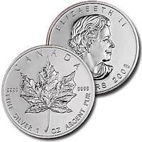 PAYING ABOVE SPOT on .999+ Silver Maples, Eagles, Bars & Coins
