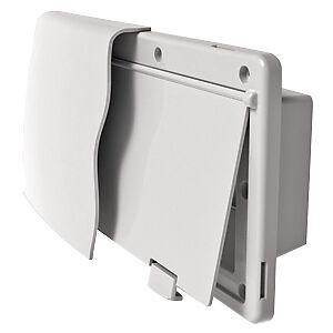 JR Products 50035 Range Hood Vent, Endura, White