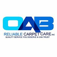 OAB Carpet Cleaning - Quality Cleaning - Save Today! - Call Us!