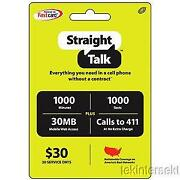 Straight Talk Phone Card