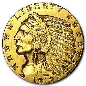 5 Indian Gold Coin