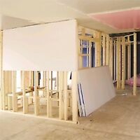 DRYWALL PLASTERING REPAIRS & INSTALLATION  20 YEARS EXPERIENCE