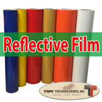 "12'' x 24"" Color Engineering Grade reflective vinyl film"