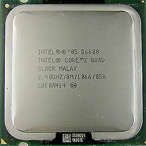 Intel Q6600 quad core CPU