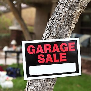 Huge Garage Sale CANCELLED DUE TO WEATHER