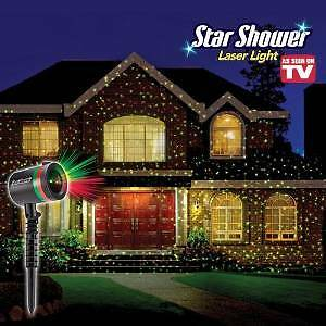 Out door shower laser light $90 cover full front of house