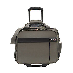 "Brand New n Beautiful Samboro Executive Lite 17"" Bag w/Trolley,"