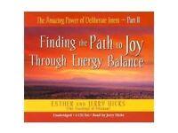 4 CD Finding the Path of Joy Through Energy Balance Esther & Jerry Hicks
