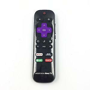 Insignia Roku Tv Remote Control NS-RCRCA-16 For Roku TV Netflix Cineplex Radio