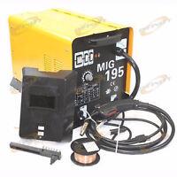 Soudeuse MIG 195 amp 220v avec gaz neuf