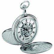 Chrome Pocket Watch
