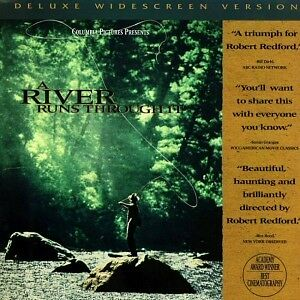 A River Runs Through It 2 disc Laserdisc-Robert Redford film