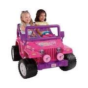 Power Wheels Barbie Jeep