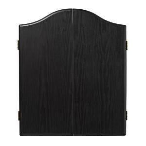 ARMOIRE FLECHETTE NOIR / BLACK DARTBOARD CABINET