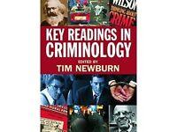 Key Readings in Criminology [Paperback] Tim Newburn