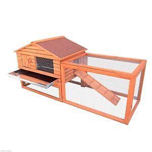 Coop pour poules Cage a Poules - Lapin 61 pouces Neuf