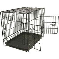 Cage Kennel 30,36, 42, 48 po pour chiens chats 4 formats Neuf