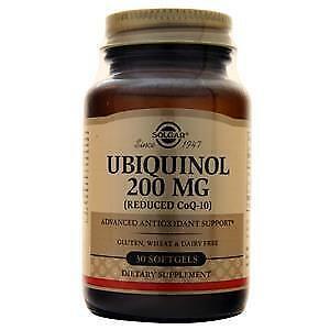 Solgar – Ubiquinol with Reduced CoQ-10 100 mg, 30 Softgels