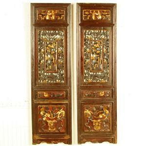 Chinese Carved Screens