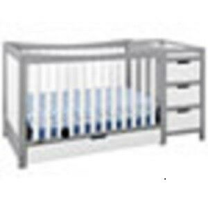 Graco Remi 4-in-1 Convertible Crib and Changer - White