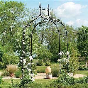 "Gardman R351 Gothic Arch, Black, 4' 7"" Wide x 8' 5"" High"