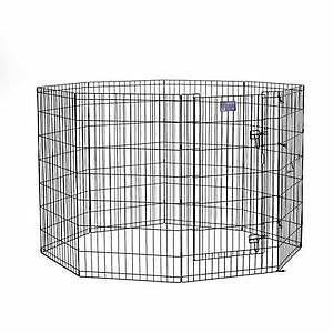 """NEW! Without box 42"""" Exercise Pen with step-through door"""