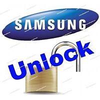 Samsung Galaxy unlocking service on spot in 1 hour