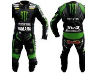 Yamaha Motorbike Racing Leathers Suit, CE APPROVED ARMOUR! Brand New! Sale now on