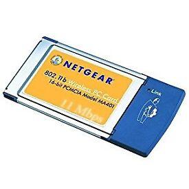 Netgear M401 PCMCIA 802.11b Wireless Card.