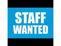 URGENT -- Experienced STAFF WANTED (Restaurant Manager/Tandoori Chef/Waiter/Waitress)