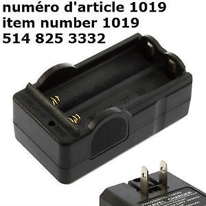 plug LED Battery Charger DC 4.2V for 18650 Rechargeable Li-Ion 3