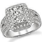 Moissanite Engagement Ring Radiant