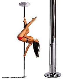*PROFESSIONAL X-POLE FOR SALE* with additional extensions, chrome 50mm