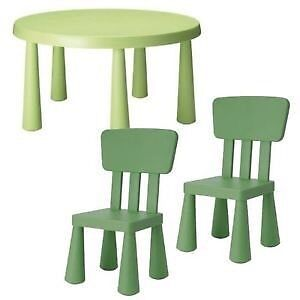 IKEA kids table and chairs  Peterborough Peterborough Area image 1