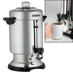 60-cup Coffee Urn to Rent for Weddings, Showers, Gatherings