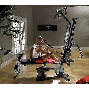 BowFleX BlaZe with Latpulldown gym weights exercise