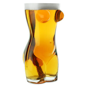 Sexy Torso Beer Glass 2.5 Pints | Adult Novelty